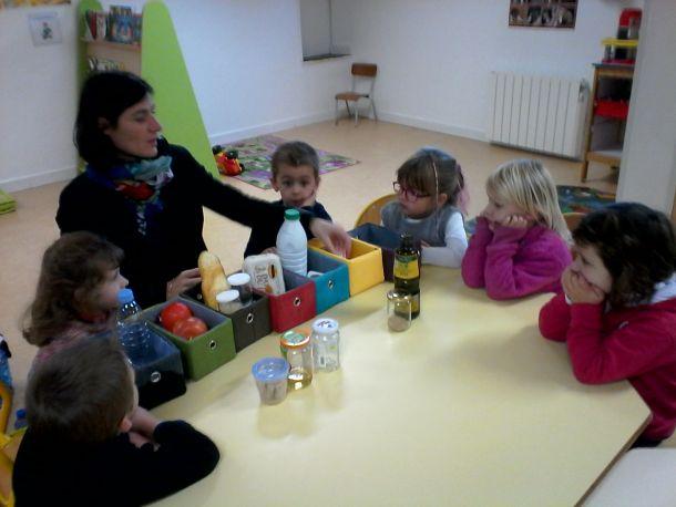 Equlibre alimentaire au restaurant scolaire et à l'école