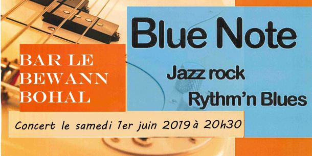 """Concert au bar """"le bewann"""""""